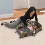 Summer Infant Deluxe Travel Bed Features Fold-N-Go Design