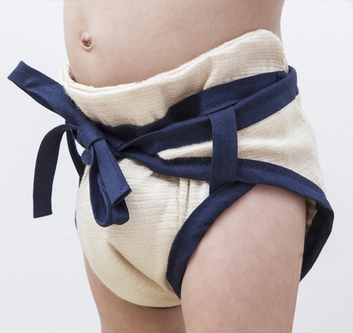 Sumo Reusable Cloth Diaper Is Made from Sustainable and Biodegradable SeaCell Fabric