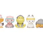 SunBum Duke & Friends Bath and Beach Toys for Little Hands