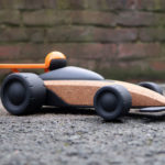 Sustainable RC Vehicle Toys Made from Cork by V2 Studios