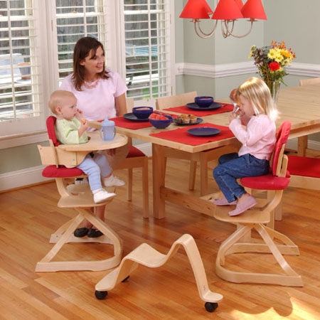Svan Highchair Swedish Design