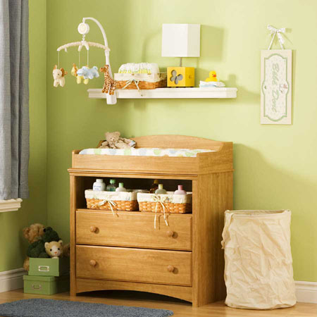 Sweet Morning Baby Changing Table