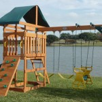 Swing Town Phoenix Swing Set : Affordable Swing Set with Many Features