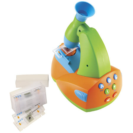 Talking Microscope Lets Your Kid Become a Science Observing Enthusiast