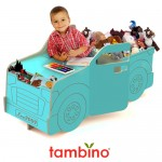 Tambino Pickup Truck Is A Combination of Desk and Double Toy Chests