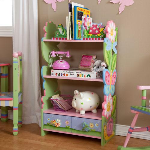 Bon Teamson Kids Children Magic Garden Book Shelf
