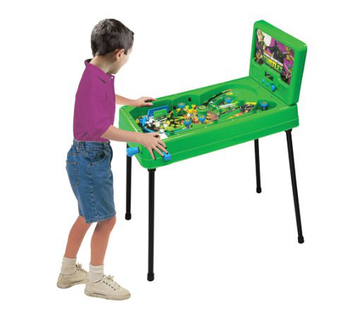 Teenage Mutant Ninja Turtles Turtle Power Free Standing Pinball