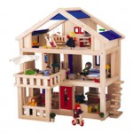 Plan Toys Terrace Dollhouse Offers Great Playing Ideas