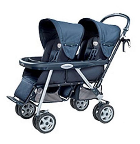 The Midnight Double Stroller Makes Baby Carrying Even More Exciting
