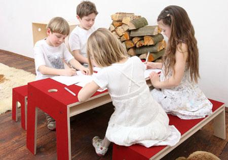 the oskar table and bench