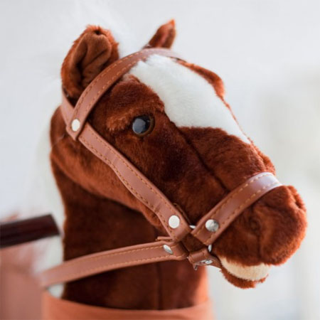 Playful Charm Co. Pinto Rocking Horse