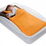 The Shrunks Tuckaire Toddler Inflatable Travel Bed : A Perfect Solution for Sleepover or Camping