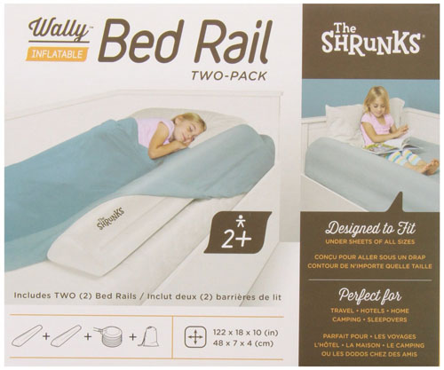 The Shrunks Wally Inflatable Toddler Bed Rails