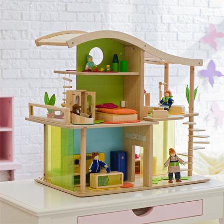 Hape Bamboo Sunshine Dollhouse