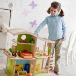 The Hape Bamboo Sunshine Dollhouse Can Boost Your Child's Imagination with Various Playing Ideas