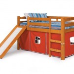 The Twin Loft Bed with Slide Gives Ultimate Comfort and Fun to Your Kids