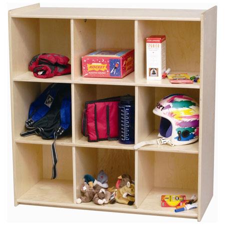 wooden storage cube bookcase