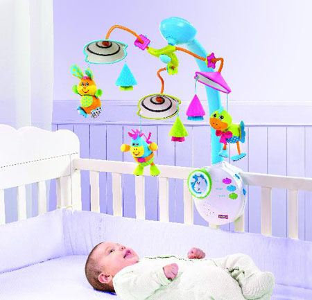 Tiny Love Classic Mobile To Improve Baby's Cognitive and Emotional Development