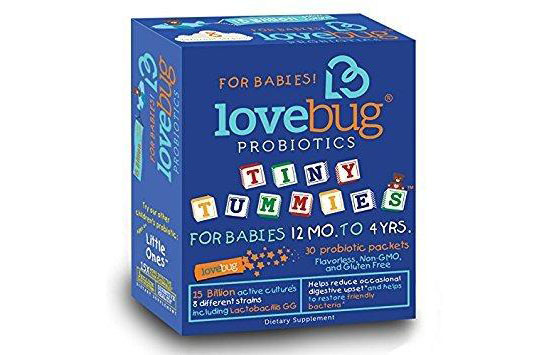 Tiny Tummies by Lovebug Probiotics