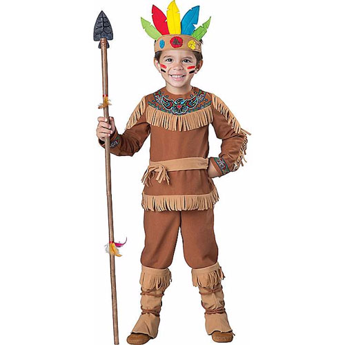 Toddler Little Warrior Native American Costume - Top 20 Baby and Toddler Halloween Costumes