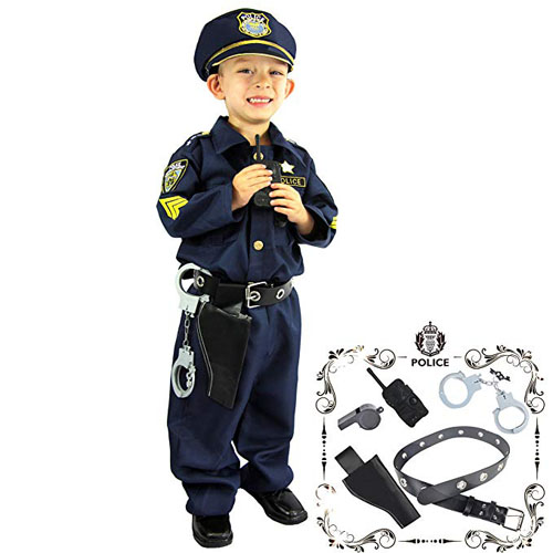Toddler Police Officer Costume and Role Play Kit - Top 20 Baby and Toddler Halloween Costumes