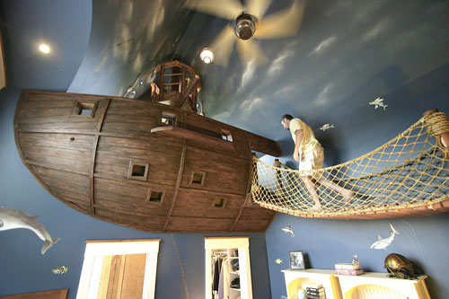 A room for Little Pirates by Kuhl Design