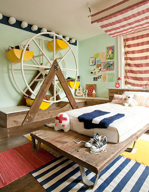 Circus Bedroom by Kate Dixon