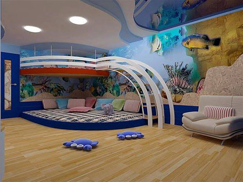 Aquatic Kids Bedroom