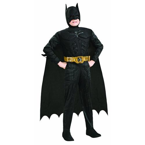 Batman Dark Knight Rises Deluxe Muscle Chest Batman Costume - Top 20 Halloween Kids Costumes