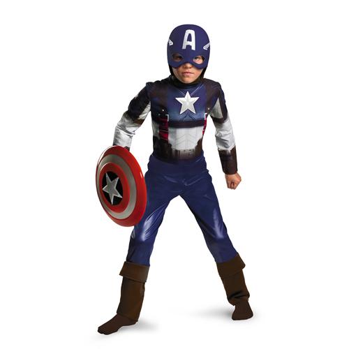 Captain America Movie Boy's Costume - Top 20 Kids Halloween Costumes