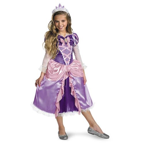Disney Tangled Rapunzel Girl's Costume - Top 20 Kids Halloween Costumes