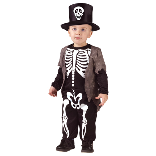 Happy Skeleton Costume - Top 20 Halloween Kids Costumes
