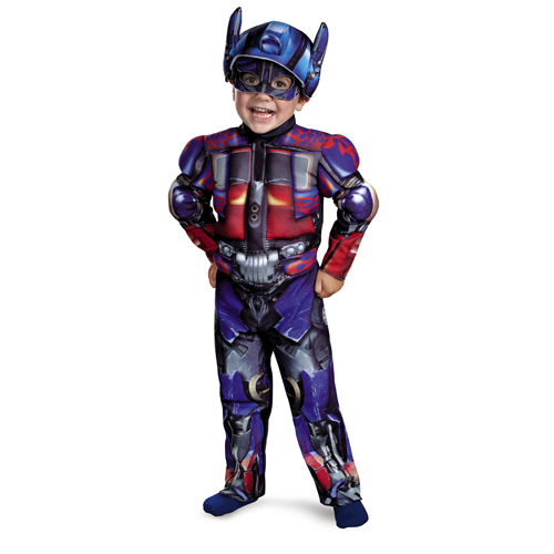 Transformers Optimus Prime Toddler Muscle Costume - Top 20 Halloween Kids Costumes