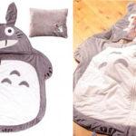 Cute Ghibli Totoro Baby Sleeping Mat with Pillow Set for Studio Ghibli Little Fan