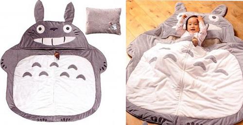 Ghibli Totoro Baby Sleeping Mat with Pillow Set