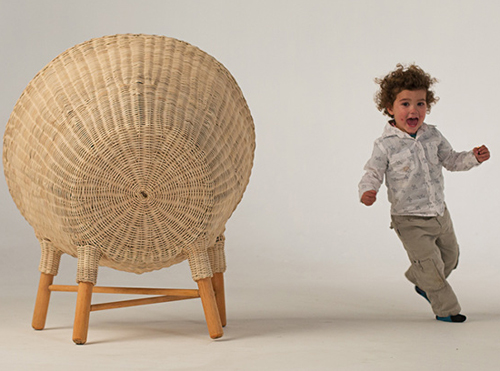 Traven Baskets Series by Christian Vivanco and Nido Muebles