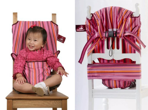 Trendykid Totseat Portable Fabric Highchair You Can