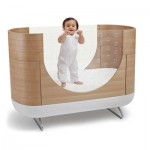 Modern Ubabub Eco Pod Cot Grows With Your Children
