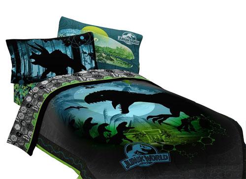 Universal Jurassic World Biggest Growl Microfiber Comforter