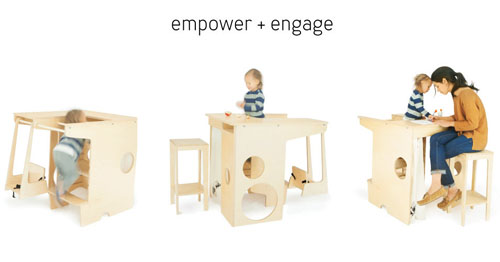 UpUp Play Tower Multifunction Children Furniture