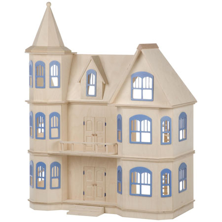 Guidecraft Victorian Dollhouse Boosts Your Kid's Creativity Through Various Imaginary Playing Ideas