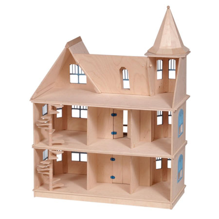 Guidecraft Victorian Dollhouse