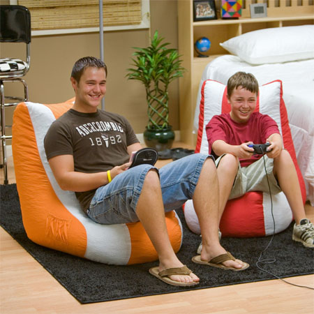 Video Bean Bag Chair Offers Excellent Video Game Playing