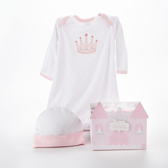 Beautiful Welcome Home Little Princess 2-piece Layette Set