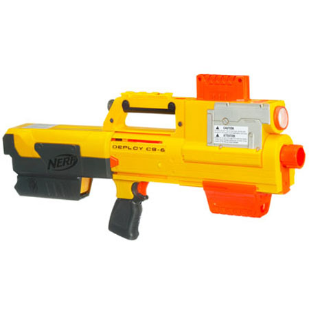 Win The Battle By Using The NERF N-Strike Deploy When the Target Is Found