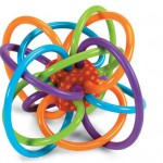 Winkel is a rattle and teether rolled into one