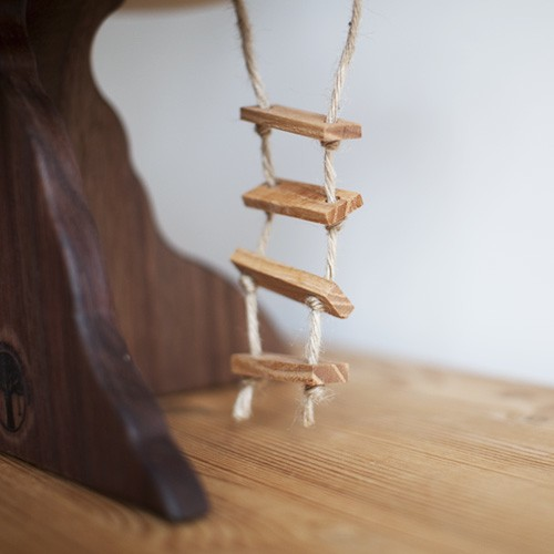 Wooden Tree House Toy