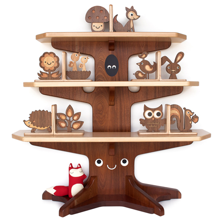 Woodland Happy Tree Bookshelf