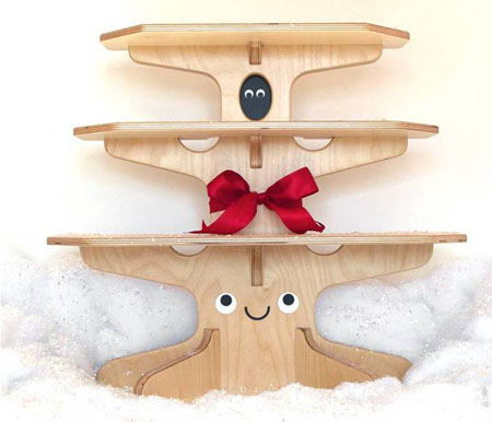 Woodland Happy Tree Bookshelf