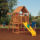 Powerhouse Swing Set Offers Theme Park Fun For Your Kids Right At Your Backyard